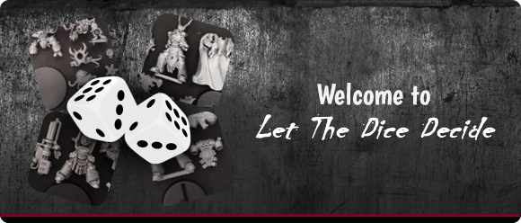 Welcome to Let the dice decide Banner